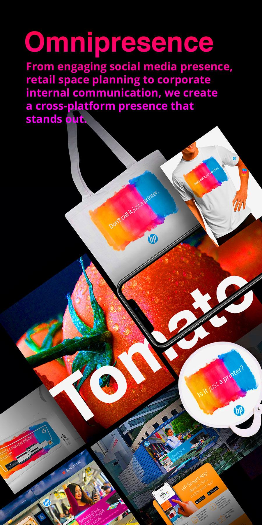 design consultants, design agency, Singapore, creative, graphic design, media, brands building, Tomato Design, point of sales,